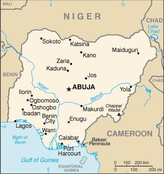Nigeria_mappa