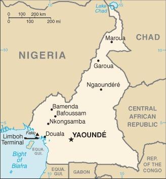 Camerun_mappa